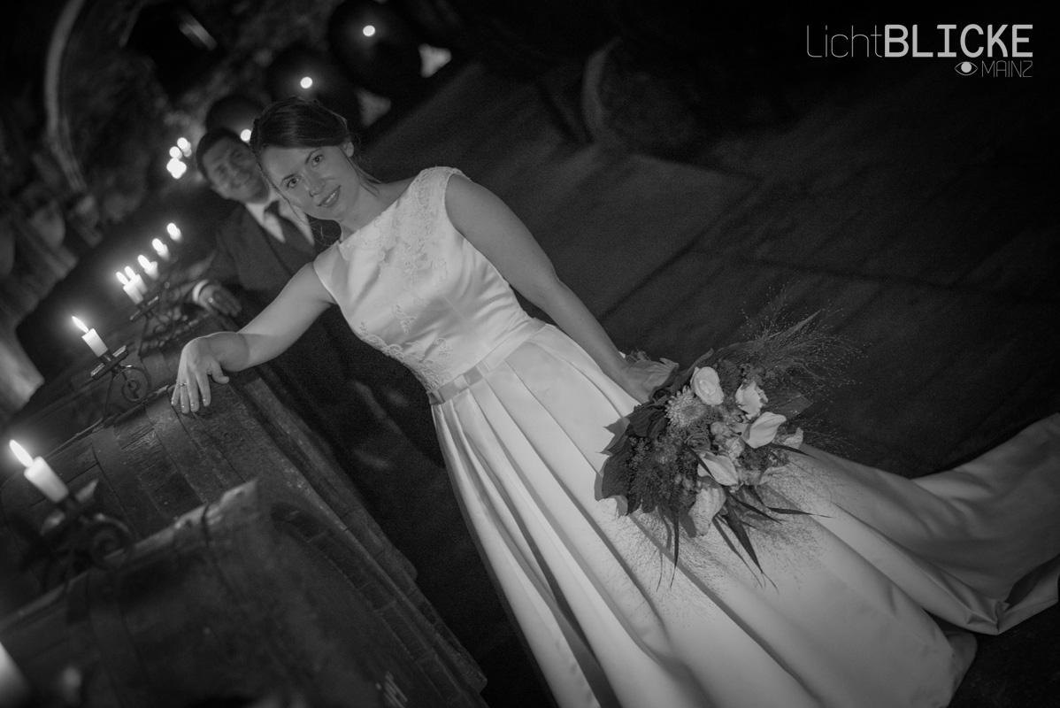 Hochzeitsshooting in alten Gemäuern